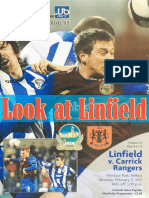 Vol 41 - Linfield v Carrick Rangers 11.02.12