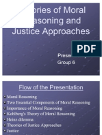 Theories of Moral Reasoning and Justice Approaches - Gp3