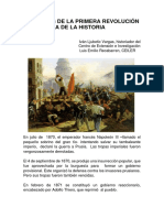 La Primera Revolución Proletaria de La Historia, Iván Ljubetic