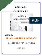 Emprendimiento y Gestion 1ero Ciencias b