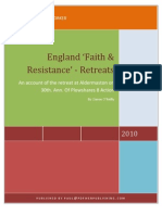 England 'Faith & Resistance' by Ciaron O'Reilly