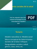Clase 2 Determinantes de La Salud 2017