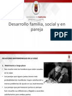 Relaciones Matrimoniales en El Adulto Mayor