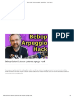 Bebop Guitar Licks Con Potente Arpegio Hack - Jens Larsen