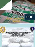 Intox. Por Aspirina