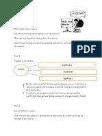 Crear Un Diccionario - Hoja Para Pensar