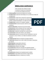 Terminologia Quirugica Escrito