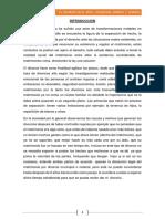 El Divorcio en El Perú