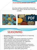 4.Seasoning,Flavoring,Herbs and Spices