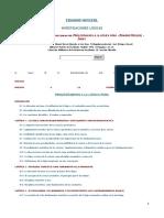 Indice de LU (P) y LU II