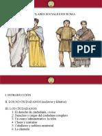 Clases Sociales en Roma