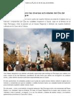 Gran interés despertaron las diversas actividades del Día del Patrimonio en Rancagua