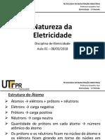 2018 03 08 Aula01 Natureza Da Eletricidade