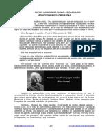 Nuevos Paradigmas Para El Psicoanalisis