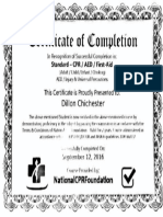 cert cpr aed first aid