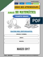 MATEMATICA  4° MARZO