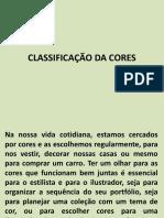 Classificação Da Cores