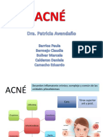 Acneě diapositivas dermatologiěa
