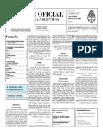 Boletin Oficial 14-09-10 - Segunda Seccion