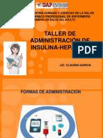 Adminisracion de Insulina
