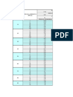Tabla de Datos HDPE