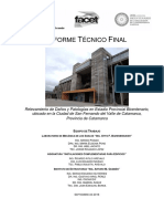 Informe sobre el estadio Bicentenario de Catamarca