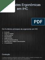 Qualidades Ergonômicas Em IHC