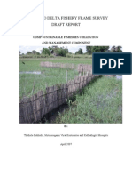 ODMP Fishery Frame Survey Draft Report