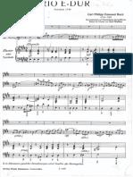 CPE BACH 2 flutes E