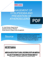 aacemanagementofdyslipidemiaandpreventionofatherosclerosis-170306051354