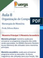 Aula 8 - Hierarquia de memoria.ppt