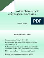 NO Chemistry FPK1 2012