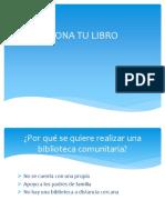 Presentación Biblioteca