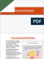 Cicloconvertidores Presentacion de Exposicion