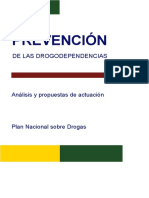 Prevencion en Drogodependencias