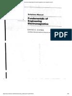 Solucionario David Cheng Fundamentos De electromagnetismo