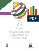 Anuario Estadístico de Puebla 2016