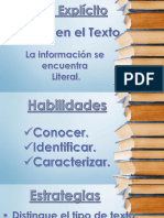 Indicadores de La Lectura
