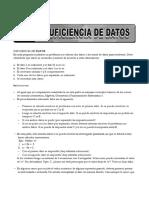 24. Isuficiencia de Datos