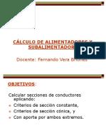 Cálculo de Alimentadores