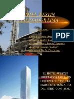 Proyecto Del Hotel Westin Libertador