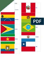 Banderas de América Del Sur