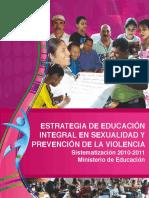Sistematizacion de Educacion en Sexualidad