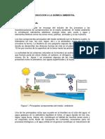 Introducción a La Química Ambiental