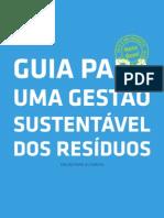 guia para uma gestão sustentável dos residuos