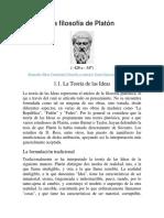 Teoría de Las Ideas de Platón