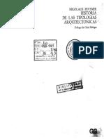 PEVSNER - Historia de Las Tipologías Arq - Mercados