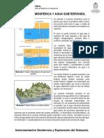 Presión Atmosférica y Agua Subterranea