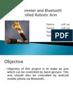Accelerometer Robotic Arm
