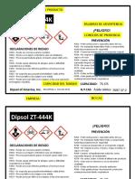 Guia Etiqueta de Quimico Sistema Globalmente Armonizado